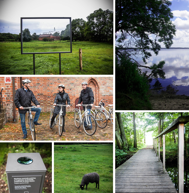 oplevelser i landskabet collage